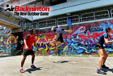 Wind gods come to play as badminton moves outdoors