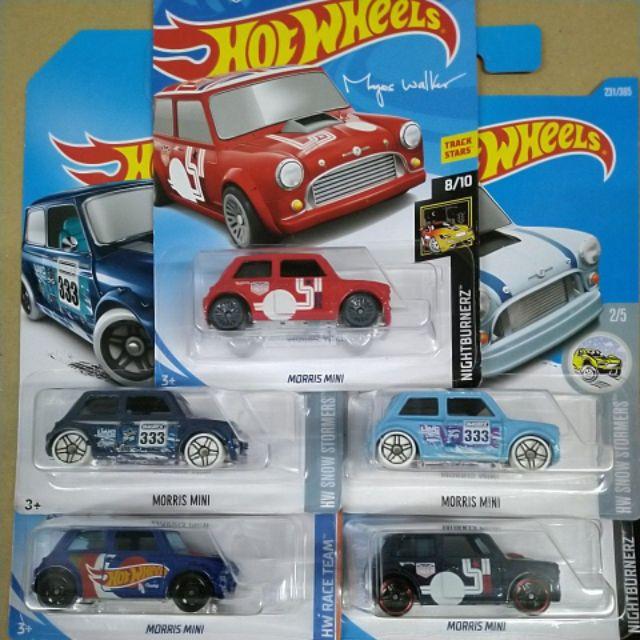 hot wheels morris mini hot...